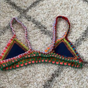 8533b8285a815 KIINI Swim - Tasmin Crochet Trim Bralette Bikini Top by Kiini